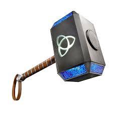 marvel legends thor electronic hammer thinkgeek