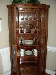 corner curio cabinets for sale oak curio cabinets for sale s oak corner curio cabinets sale solid