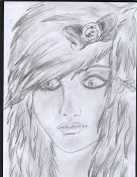 Emo Hairstyles Drawings by My Emo Draw Drawing D Doom 2017 Jul 9 2011