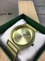 lacoste belgië lacoste gold 2020048 dameshorloge horloges te herenthout