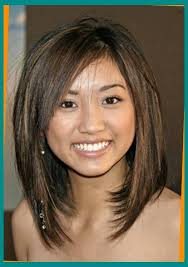 haircuts for slim women medium length haircuts for round faces and thin hair pleasant