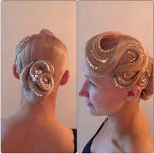 hair styles with rhinestones 167 best ballroom hair makeup and accessories images on