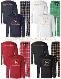 matching pajamas family pjs sleepwear