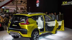 mitsubishi crossover 2016 2017 mitsubishi xm 7 seat crossover concept unveiled at 2016