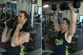 how to dumbbell arnold press ignore limits