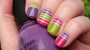 arcadianailart 3 striping tape nail art designs
