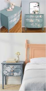 ways to update your home with vintage painted furniture