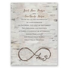 rustic wedding invitation kits rustic wedding invitations marialonghi