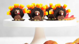 oreo thanksgiving turkeys chocolate candy thanksgiving turkeys southern living