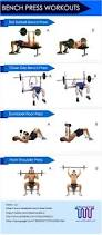 Bench Exercises With Dumbbells Best 25 Bench Press Ideas On Pinterest Bench Press Weights