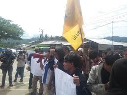 busman di pukul wartawan demo polisi didesak tangkap dan adili