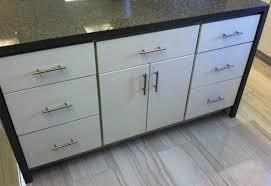 Slab Door Kitchen Cabinets by White Painted Slab Modern Kitchen Cabinets