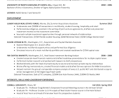 investment banking resume template impressive investmentking resume exle financial analyst sle
