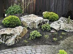 boulder in landscaping boulder plantingsgarden designj u0026s