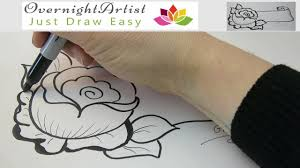 easy quick amazing drawing to surprise your mom wife or