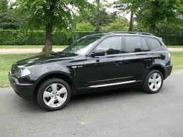 bmw x3 for sale used used bmw x3 2006 black paint diesel 2 0d m sport 5dr 4x4 for sale