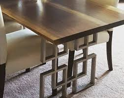 Dining Table Legs Etsy - Dining room table base