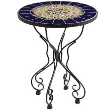Patio Accent Table by Rania Blue Accent Table Pier 1 Imports