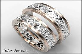 wedding rings for him and unique wedding ring sets for him and evgplc