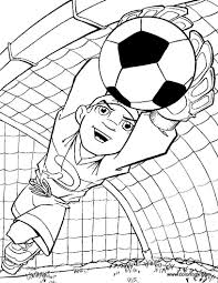 goalkeeper coloring page soccer coloring pages pinterest