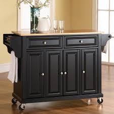 crosley furniture kitchen cart crosley furniture wood top kitchen cart walmart