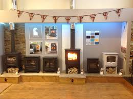 our charnwood display area with the vlaze panel behind the cove 2