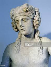 dionysus greek god statue a statue of bacchus god of wine pictures getty images