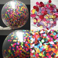 Balloon Diy Decorations Aliexpress Com Buy 18 Inch Confetti Filled Balloons Air Balls