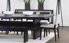 Dining Room Sets With Bench Seating Dining Room Tables With Bench Seating Ikea Benches And 2018