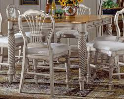 white counter height kitchen table and chairs gathering table and chairs engaging hillsdale harrods creek square