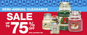 yankee candles semi annual clearance sale pay as low as 0 99