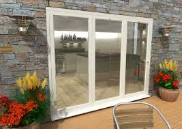 Bifolding Patio Doors Aluminium Patio Doors Sliding Doors In White