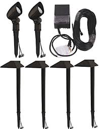 Malibu Low Voltage Landscape Lighting Malibu Equinox 6 Pack Led Light Kit Led Low Voltage