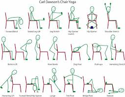 yoga poses pictures printable printable chair yoga routines http www t six com music 92413