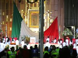 Guadalupe Flag A Night With The Mexican Virgin U2013 Nuestra Señora De Guadalupe