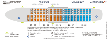 Air France Comfort Seats Air France Airlines Aircraft Seatmaps Airline Seating Maps And
