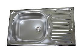 evier vasque cuisine acier inox evier de cuisine évier encastré küchen 41x76cm eur 143