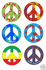 4 peace sign car magnets choose 1 from 15 designs 5 00