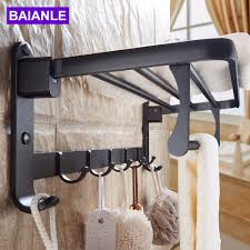 Wall Mounted Folding Shelf Online Get Cheap Shower Towel Rack Aliexpress Com Alibaba Group