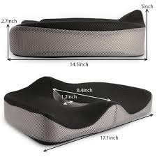 Office Chair Cushion For Back Pain Sale Chair Cushion Flexible Memory Sponge Buttock Cushion