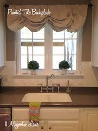 how to paint tile backsplash in kitchen paint ceramic tile backsplash home tiles