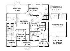 656176 traditional 5 bedroom 3 bath craftsman with office and