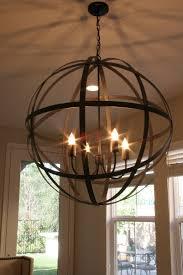 Globes For Chandelier Restoration Hardware Chandelier Get The Junk Store To Make A