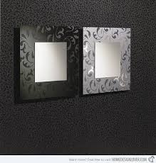 Modern Mirrors For Bathrooms 15 Fascinating And Exceptional Modern Mirror Designs Home Design
