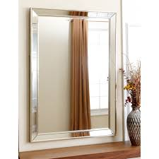 tekema rectangle frameless wall mirror 42w x 30h in hayneedle