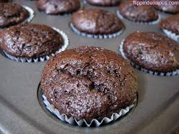the best gluten free mini chocolate cupcakes ever filled with