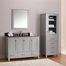 48 inch bathroom vanity with white marble top tags magnificent