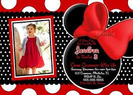 minnie mouse birthday invitation blueklip com
