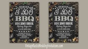 Wedding Shower Invites Camo Bridal Shower Invitations Vintage Rustic Wedding Invitations