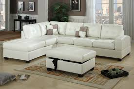 Modular Chaise Lounge White Leather Chaise Lounge M Modern White Leather Sectional Sofa